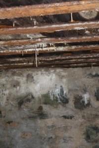 Taket i bunkeren.
